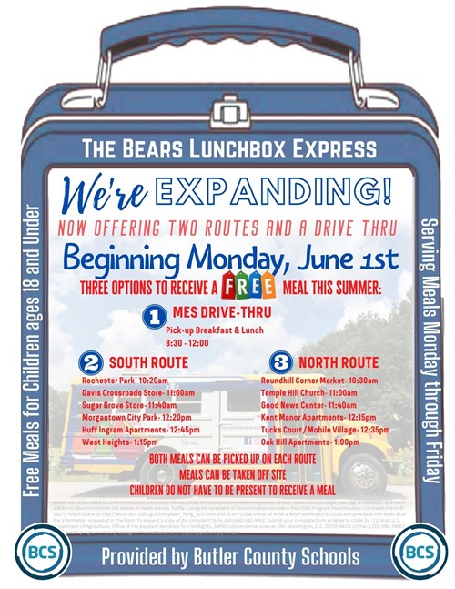 Lunchbox Express Flyer