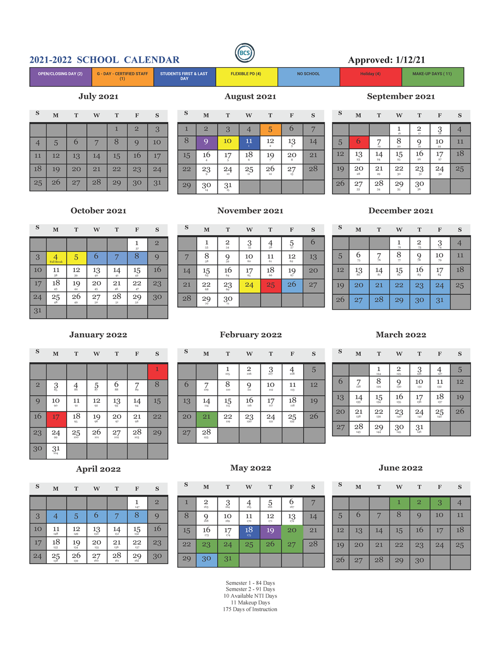 Wku Academic Calendar 2022.Bcs 2021 2022 School Calendar North Butler Elementary School