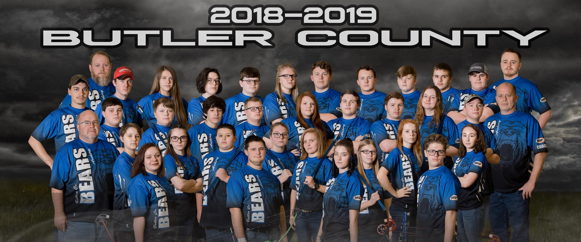High School Archery Team 2018-2019