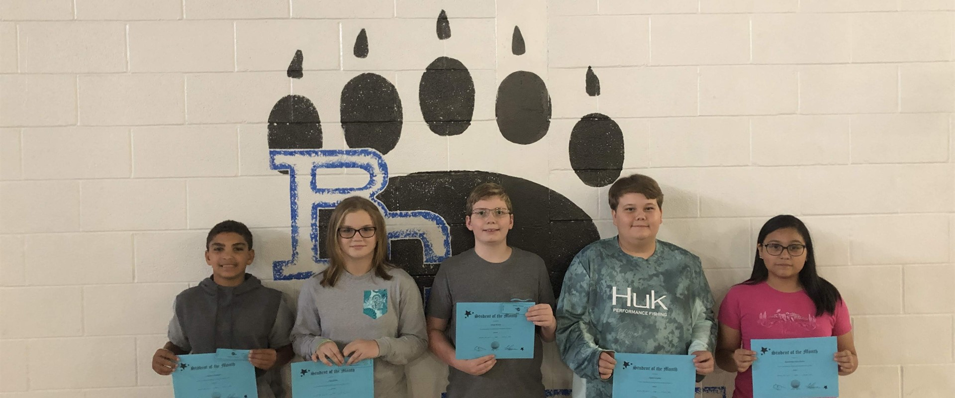 August Students of the Month