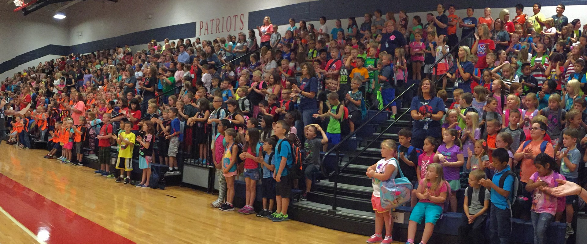 Morgantown Elementary Students participating in our weekly Fantastic Friday